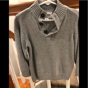 3T BOYS GRAY SWEATER